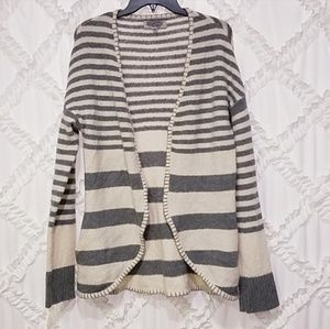 Urban Outfitters Ecote Open Front Striped Cardigan